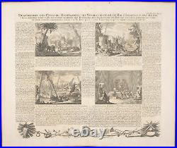 Chatelain Ivory Coast Homes of Africans 1718 Atlas Historique Engraving