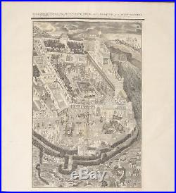 Chatelain Mughal Empire Palace. 114 1718 Atlas Historique Engraving