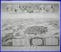 Colmar Alsace Elsass France Frankreich Kupferstich gravure engraving Merian 1650