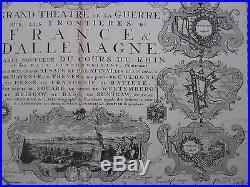 Covens Mortier Theatre de la Guerre Town Views Germany France 1745