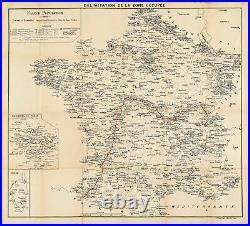 Délimitation de la Zone Occupée German Occupation of France