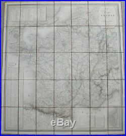 Dufour MAP CARTE FRANCE Charles Simonneau 1840 Francis Peyre Porcher Confederate
