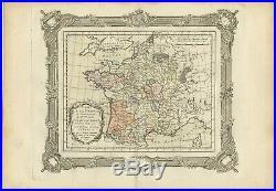 Etat de la France (.) Zannoni (1765)