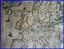 Europe, Celtic Europe, Abraham Ortelius, 1606, Europa sive Celticam Veterem