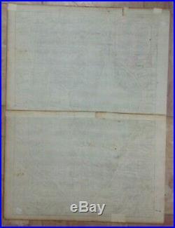 FRANCE AUTUN (BOURGOGNE) 1575 BELLEFOREST/MUNSTER 16e CENTURY LARGE BIRDS'VIEW