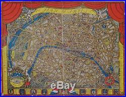 FRANCE PARIS / Plan de Paris 1927