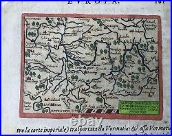 FRANCONIA, France Orientalis Vulgo. , Giovanni Botero, Relationi, Brescia, 1599
