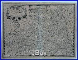 Fine Map of the Ancient World LA PARTIE DU LANGUEDOC by Delamarche in c1800