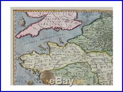 France Galliae Veteris Typhus Ortelius map 1594