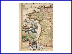 France Galliae seu Franciae Nicolaes Visscher 1688