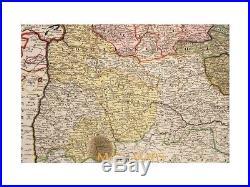 France Generalis Languedociae Languedoc France Homann map 1742