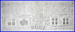 France Maison Royale Royals family tree engraving Kupferstich Chatelain 1720