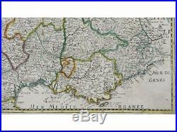 France map. Carte Generale du Royaume de France Sanson/Melchior 1658