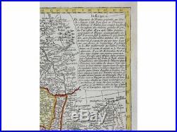France map. Le Royaume De France Fait conforme Seutter 1740