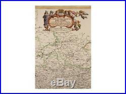France old map Picardy Map Carte Générale Picardie Lochom 1648