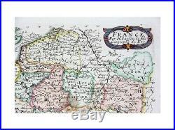 France par N. Sanson le fils Antique map Sanson 1668