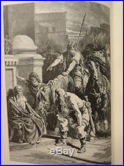 Guizot's Popular History France Vol 1 Hardcover Antique Estes Illustrated + Maps