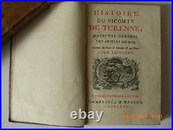 Histoire Du Vicomte Turenne Vols 1 4 1771 Lord Kinnaird Leipzig Engraved Maps