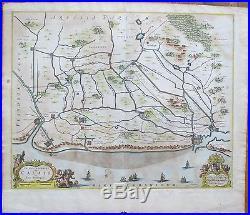 JANSSONIUS France Calais 1650