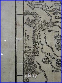 Joh. Stumpf Germania Teutschland Double Folio Map 1548