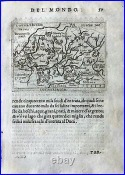 LOTHARINGIA, Abraham Ortelius, ca. 1667