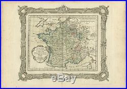 La France au commencement du Regne de Louis XIV (.) Zannoni (1765)