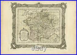 La France sous le VIIe Siècle Zannoni (1765)