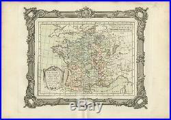 La France sous les Regne de Philippe Auguste (.) Zannoni (1765)