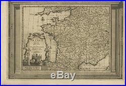 La France suivant les nouvelles observations (.) Van der Aa (c. 1740)