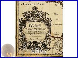 Le Royaume de France antique atlas map Sanson/Jaillot 1692