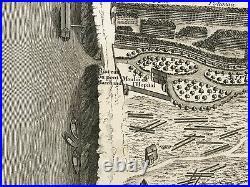 PLAN DE PARIS 1739 by TURGOT & BRETEZ LARGE ANTIQUE PLAN NUMBER 2 1st EDITION