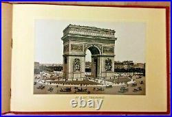 Paris Exposition Universelle 1889 Album Of 38 Lithographed Photographs Original