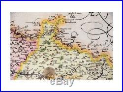 Picardy map France Theatrum Orbis Terrarum Ortelius 1579