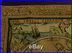 School History Goblys France Geographica Hydrographica Renaissance Wall Tapestry
