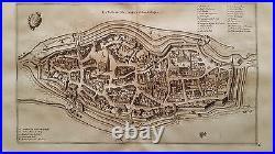 Switzerland Van Der Aa 1729 Mulhausen Suntgow France Germany Alsace Suisse