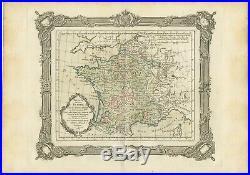 Tableau de la France sous les Règnes d'Henri (.) Zannoni (1765)