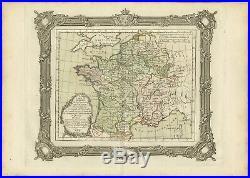 Tableau général de la Couronne de France Zannoni (1765)