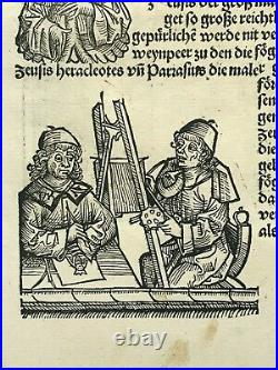 Toulouse France 1497 Chronicle Of Nuremberg Hartmann Schedel Original