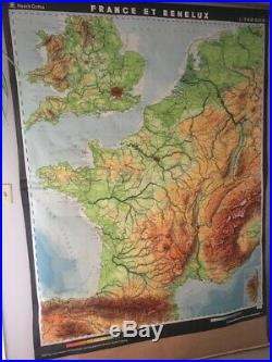 Map Of France In French Language.Antique Map France Blog Archive Vintage Wall Map French Language